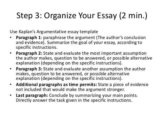 Help on argumentative essay