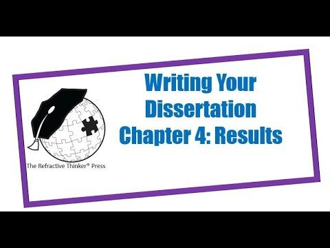 Dissertation chapter help