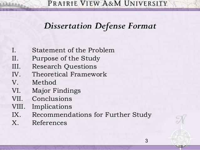 Phd by dissertation only defense ppt